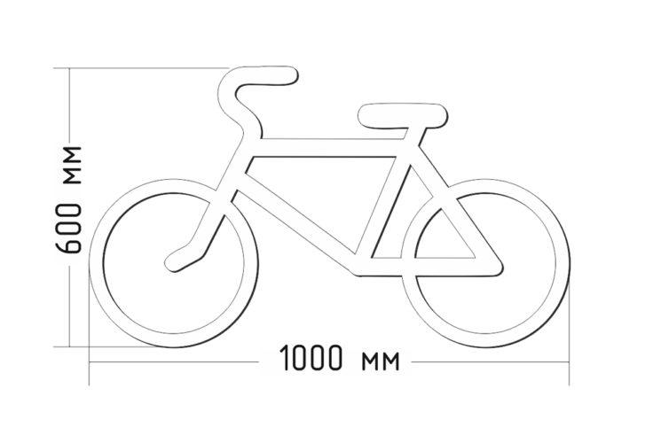 Разметка велосипед