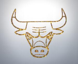 Символ нового 2021 года. Белый стальной бык.